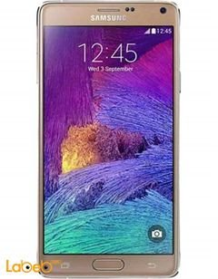 Samsung Galaxy Note 4 smartphone - 32GB - Gold - SM N910C