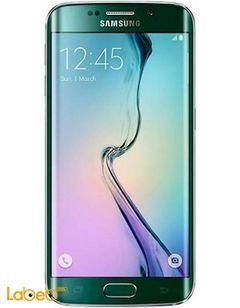 Samsung Galaxy S6 Edge - 32GB - 4G - Green color - SM-G925