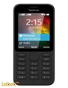 Nokia 215 mobile - 2GB - 2.4 inch - Dual Sim - Black color