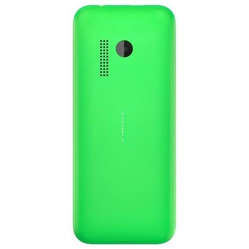 back Nokia 215 Dual Sim phone Green color