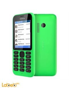 Nokia 215 - 2.4-inch Dual Sim phone - Green color