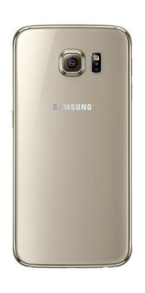 Gold Samsung Galaxy S6 back
