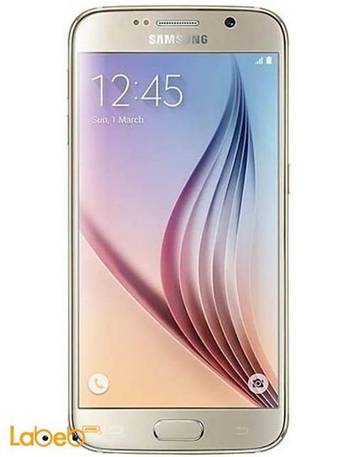 Samsung Galaxy S6 smartphone Gold color