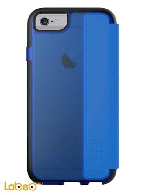 غطاء كامل لآيفون 6 تيك 21 كلاسيك - قابل للطي - لون أزرق - T21-4304