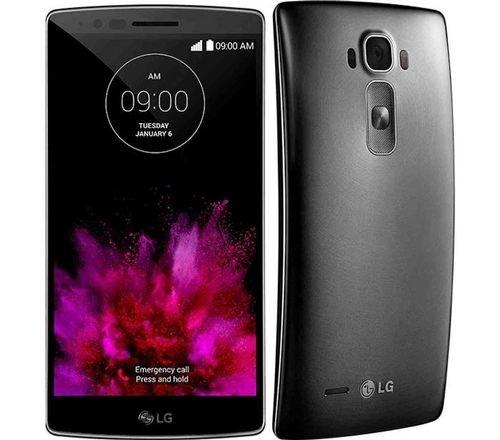 واجهة وخلفية موبايل LG G Flex2 ذاكرة 16 جيجابايت لون فضي LG G Flex 2