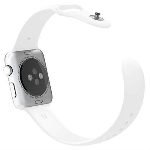 Apple Sport Watch MJ2T2 38mm Silver Aluminum Case White Sport Band