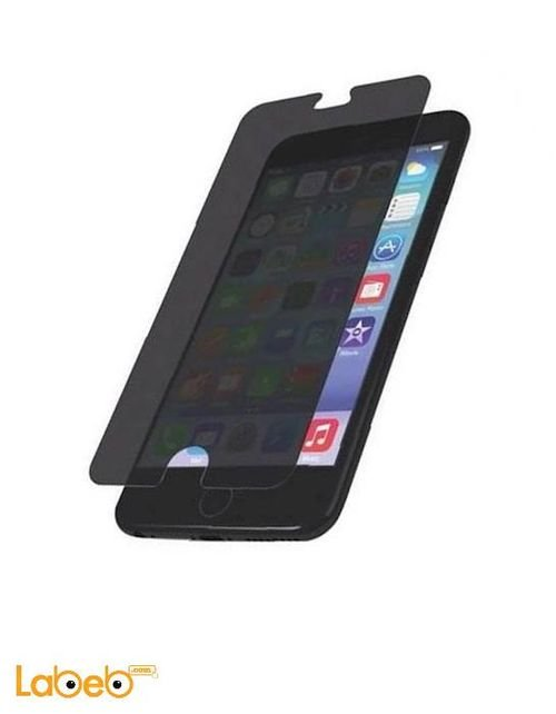 Zagg Screen Protector Glass iPhone 6 Plus black PPGPS-F00