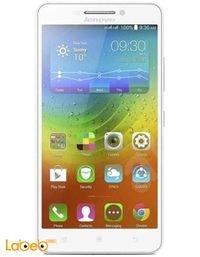 موبايل لينوفو A5000 لون أبيض ذاكرة 8 جيجابايت