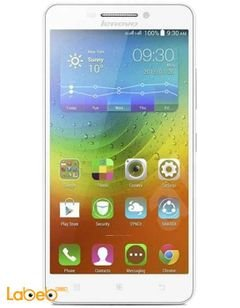Lenovo A5000 - 8GB - White color - 5 inch - Dual SIM