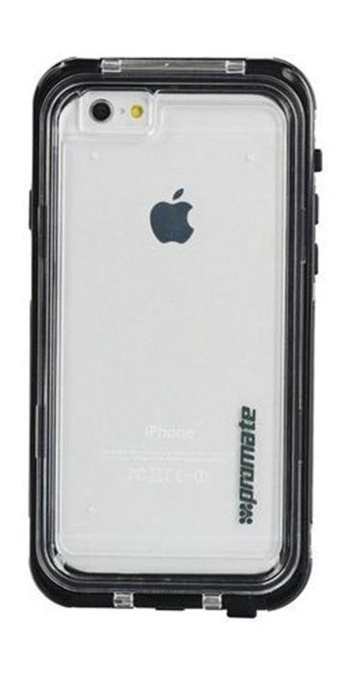 خلفية غطاء ضد الماء لجهاز أيفون 6 بلس برومايت لون أسود DIVER-I6P