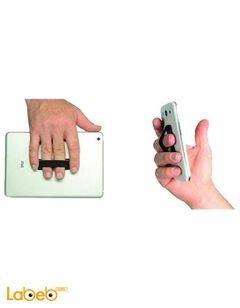 مسكة وقبضة Grip Sling - للموبايلات والتابلت - أسود - SLINGBLK