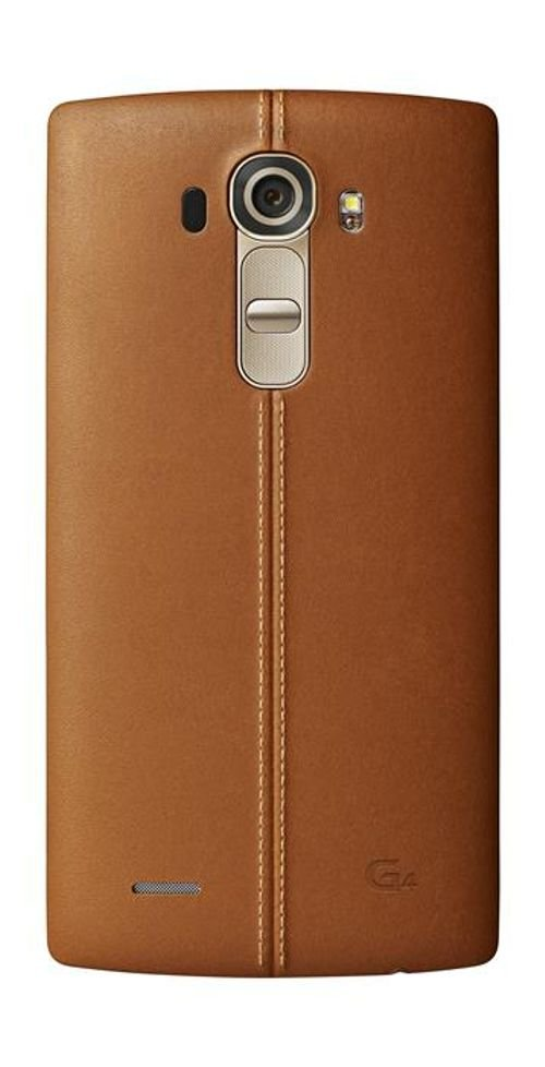 Leather Brown LG G4 Smartphone back
