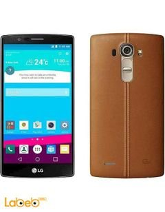 LG G4 Smartphone  - 32GB - 16MP - 5.5inch - Leather Brown color