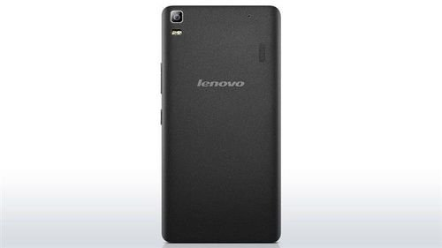 Black Lenovo A7000 Smartphone back