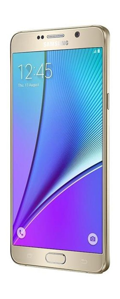 Samsung Galaxy Note 5 smartphone 32GB Gold SM N920C