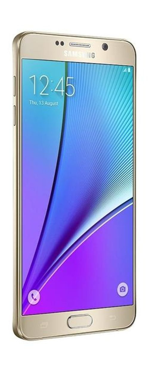 Samsung Galaxy Note 5 smartphone screen 32GB Gold SM N920C