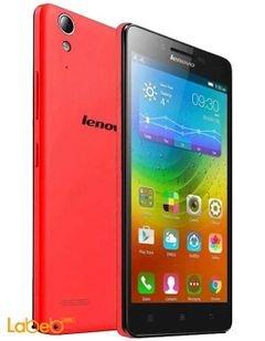 موبايل لينوفو A6000 - ذاكرة 8 جيجابايت - أحمر - Lenovo A6000