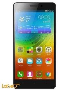 Lenovo A6000 Smartphone - 8GB - white color - 5 inch - Dual SIM