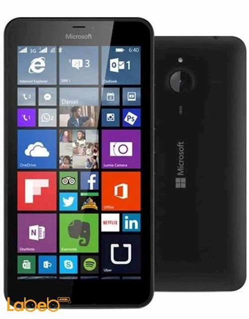 Microsoft Lumia 640 XL smartphone 8GB Black color