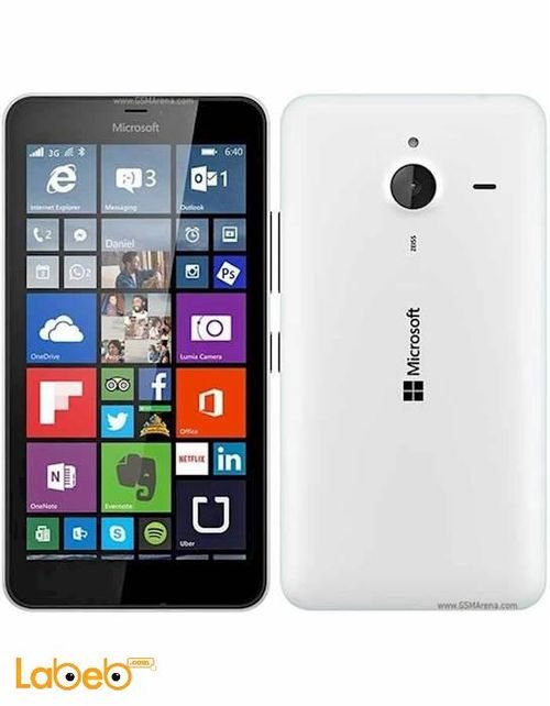 Microsoft Lumia 640 XL smartphone 8GB white