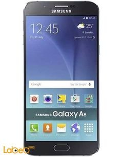 Samsung Galaxy A8 smartphone - 32GB - Black color - 5.7 inch