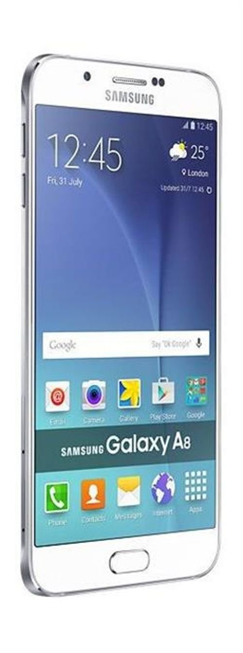 Samsung Galaxy A8 White color
