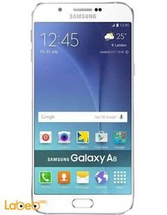 Samsung Galaxy A8 - 32GB - 5.7 inch - 4G - White color