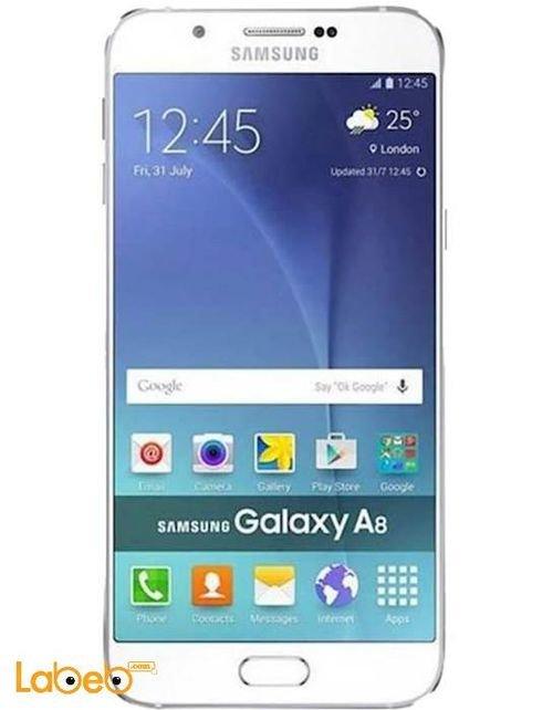 White Samsung Galaxy A8