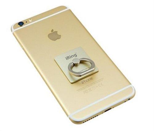 مسكة وحامل عالمي أي رينج  للهواتف الذكية ذهبي