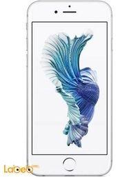 موبايل ابل ايفون 6S ذاكرة 64 جيجابايت لون فضي iPhone 6S