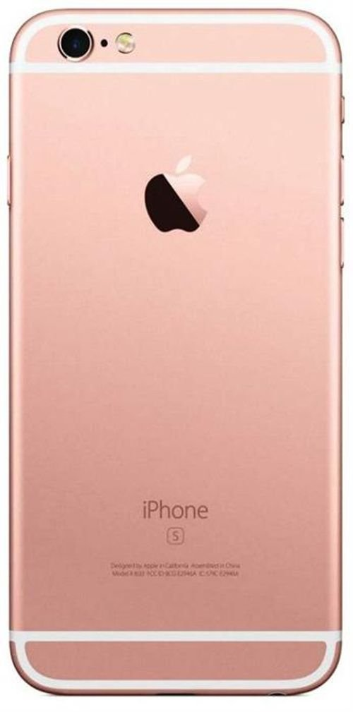 back Apple iPhone 6S smartphone 64GB Rose Gold