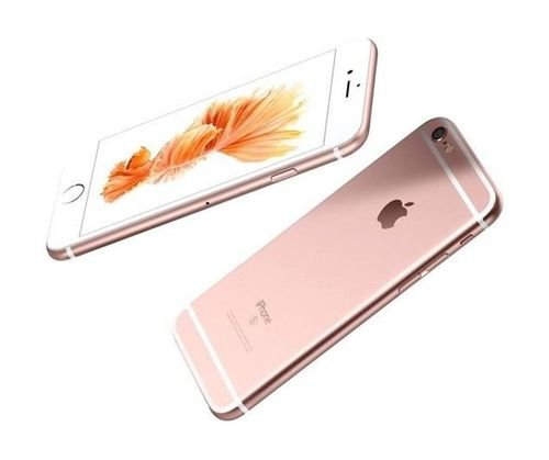 side Apple iPhone 6S smartphone 64GB Rose Gold