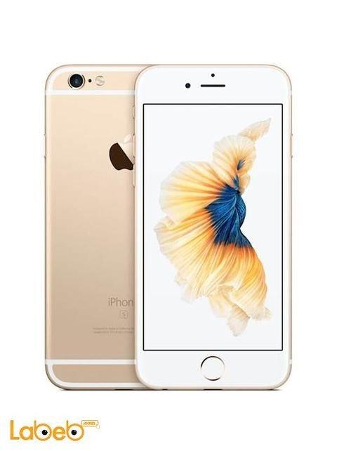 ايفون 6S ذاكرة 128 جيجابايت 4.7 انش لون ذهبي
