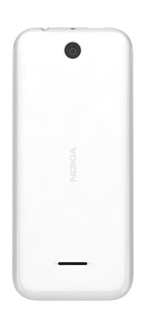 Nokia 225 Phone back 8MB 2MP 2.8Inch Dual Sim White color