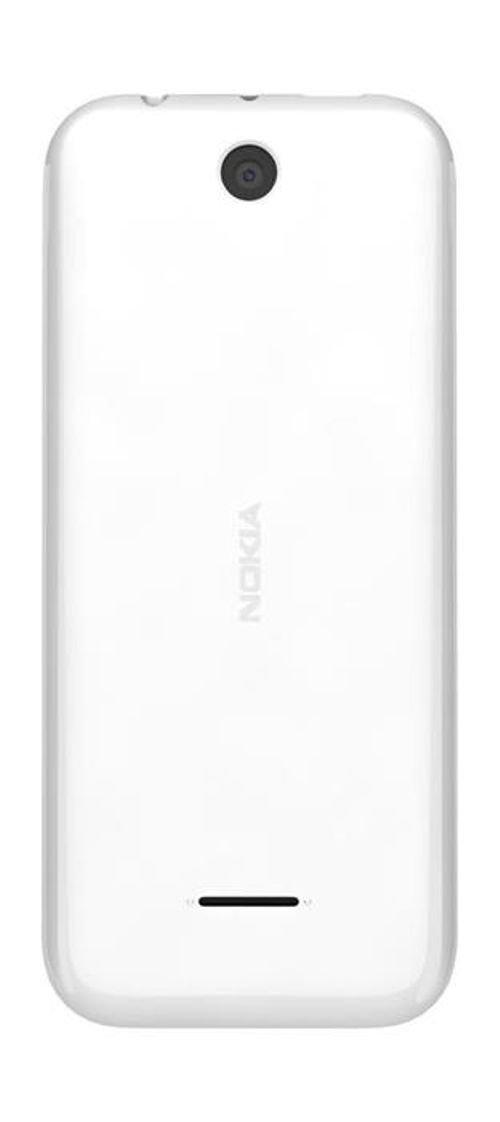 خلفية موبايل نوكيا 225 8 ميجابايت 2.8 انش لون أبيض NOKIA 225