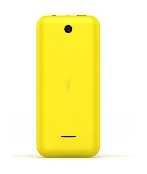 Nokia 225 Phone back 8MB 2MP 2.8Inch Dual Sim Yellow color