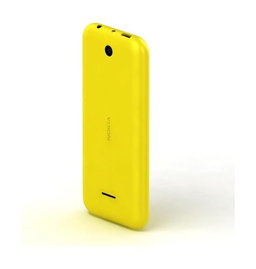 Nokia 225 8MB 2MP 2.8Inch Dual Sim Yellow color