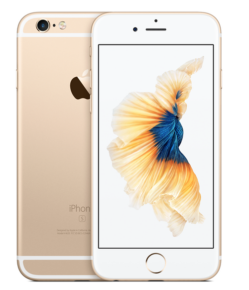 back Apple iPhone 6S Plus smartphone 64GB Gold color