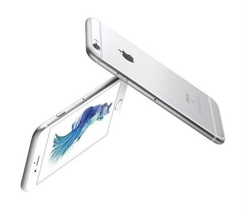 side Apple iPhone 6S Plus smartphone 16GB Silver