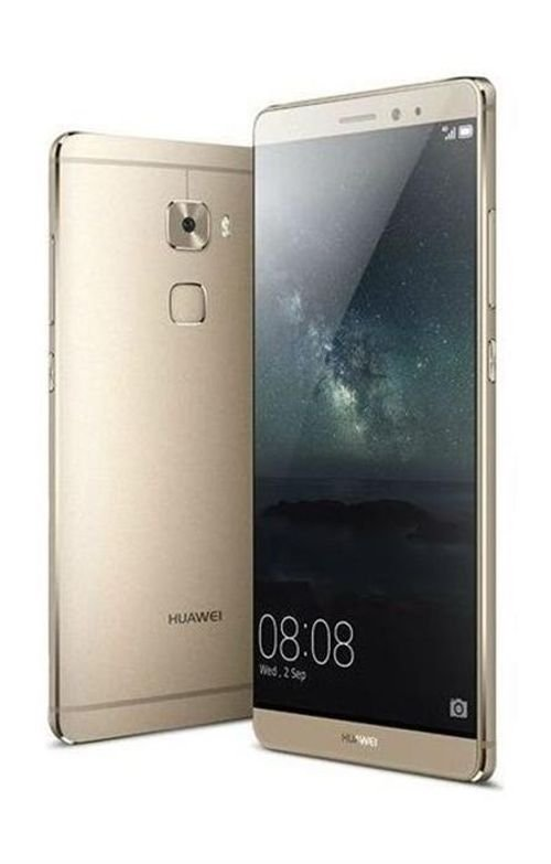 side Huawei Mate S smartphone 64GB 5.5 inch Gold