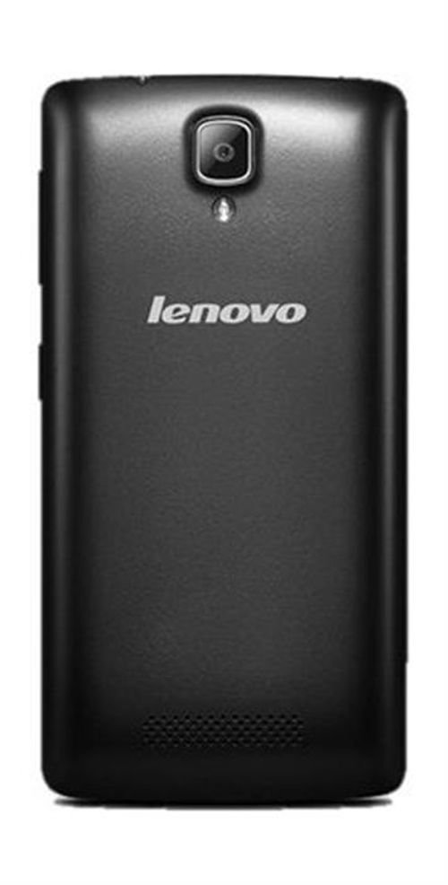 Lenovo A1000 smartphone back Black color