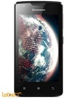 Black color Lenovo A1000 smartphone