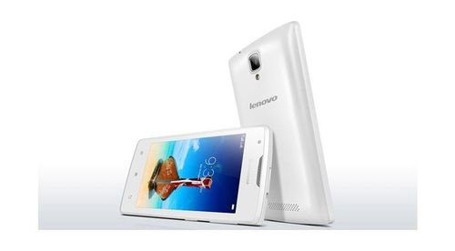 side Lenovo A1000 8GB 5MP 3G/Dual Sim White