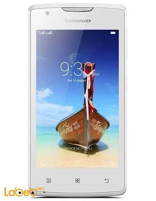 Lenovo A1000 8GB 5MP 3G/Dual Sim White