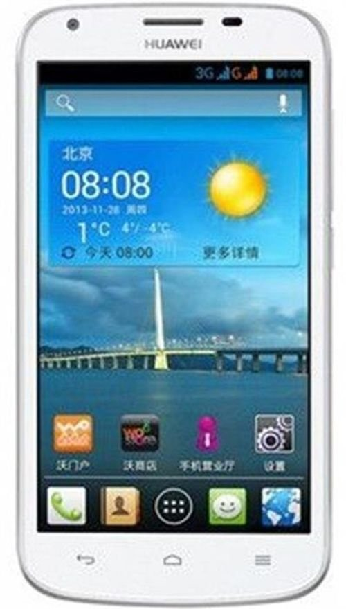 White Huawei Ascend Y600 Smartphone 4GB 3G Dual-SIM