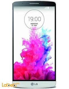 موبايل ال جي G3 - ذاكرة 32 جيجابايت - لون ابيض - موديل LG G3