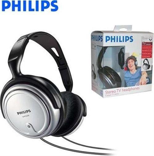 سماعات رأس فيليبس سلكية للتلفزيون موديل SHP2500/10