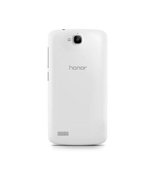 Huawei Honor 3C Lite smartphone back Black & White