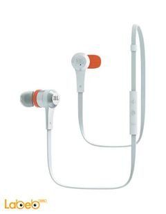 JBL wireless Earphones - Bluetooth 4.0 - White - J46BT WHT model