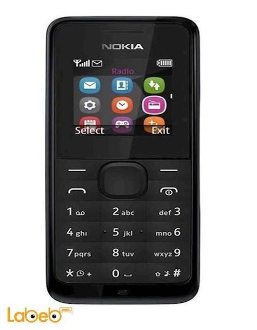 Nokia 105 Black color  NOKIA 105